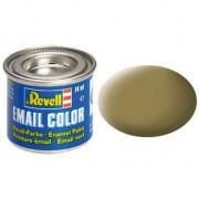 Vopsea maro masliniu mat pentru modelism Revell 14 ml