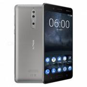 """""""nokia 8 TA-1052 octa-core dual SIM 5.3"""""""" telefono inteligente con 4GB de RAM? 64GB ROM - plateado (enchufe de los Estados Unidos)"""""""
