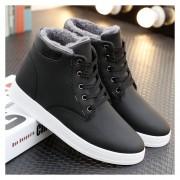 Botas zapatos para invierno fashion-cool-Hombre-negro