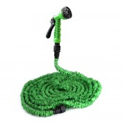 Градински маркуч 15 m [pro.tec]®, 7 функции, Зелен