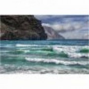 Fototapet plaja 390 x 260 cm - Hartie blueback fara adeziv