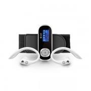 MP3 SPC SPORT CLIP PODOMETRO PLATA 8GB