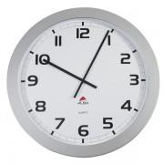 Orologio da parete Big-Big Clock Alba HORGIANT - 794560 analogico - Dimensioni 60 cm - Colore grigio metallizzato - Radiocontrollato no - HORGIANT