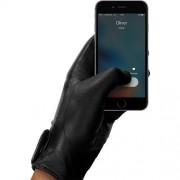Manusi Touchscreen Piele Marimea S MUJJO