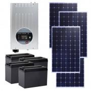 Kit Solar PNI GreenHouse SC3000 3KW 24V MPPT 4 Acumulatori 100A 4 Panouri Monocristaline 250W PNI-KS3KW (PNI)