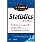 Schaum's Easy Outline of Statistics, Second Edition, Paperback/David P. Lindstrom