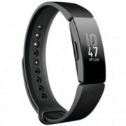 Смарт фитнес гривна Fitbit INSPIRE BLACK FB412BKBK, LCD сензорен екран, Крачки Изминато разстояние, Сърдечен пулс, Входящи повиквания, Календар, Сърдечна честота, Дишане, Мониторинг на съня, Android, iOS, черна