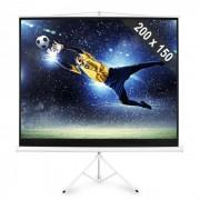 FrontStage Electronic star Ecran de projection sur pied 200x150cm 254 cm 4:3