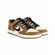 Nike SB Air Force II Low Trainers - Lichen Brown/Black Colour: Lichen