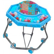 Suraj Baby Steel Pipe blue Walker for your kids Se-W-22
