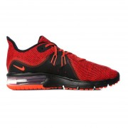 Zapatos Running Hombre Nike Air Max Sequent 3-Rojo