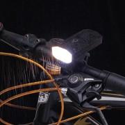 XANES DL13 2 * L2 1500LM Smart Power Indicator 5200mAh Oplaadbare groothoek IP65 Waterdichte fietsverlichting Power Bank