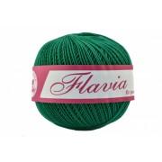 Fir de tricotat sau crosetat - Fire Bumbac 100% FLAVIA ROMANOFIR BOBINA VERDE 1252