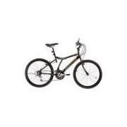 Bicicleta Houston Atlantis Land Aro 24 21 Marchas Preta
