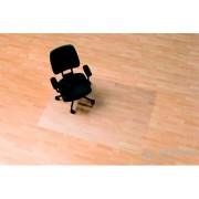 """Podloga za stolicu na tvrde površine, u oblku slova E, 120x150 cm, RS OFFICE """"Ecoblue"""""""