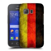 Husa Samsung Galaxy Young 2 G130 Silicon Gel Tpu Model Germany Flag