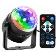 LED světlo disko koule s dálkovým ovládáním
