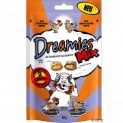Dreamies Mix Cat Treats - пилешко и патешко (6 х 60 г)
