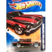 2011 Hot Wheels 89/244 - Street Beasts 9/10 - Ford Mustang Fastback (Black & Red)