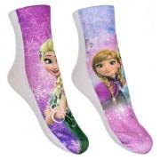 Disney Frozen sokken 2-pak roze