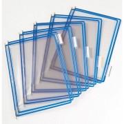 Tarifold Klarsichttafel - VE 10 Stk, für DIN A4 - blau