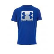 UNDER ARMOUR Box Logo Tee Blue