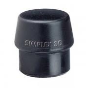 Halder Ersatzkopf Gummi, schwarz, für Pflasterarbeiten, Gerüst-, Zelt-, Zaunbau, im Kfz - Bereich