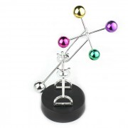 Bolas rotacion rueda de la fortuna perpetuo movimiento escritorio artesania - multicolor