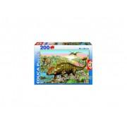 Puzzle Educa Dinosaur, 200 buc.