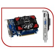 Видеокарта ASUS GeForce GT 730 700Mhz PCI-E 2.0 2048Mb 1600Mhz 128 bit DVI HDMI HDCP GT730-2GD3 / GT730-2GD3V2