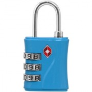 3 Digit Resettable TSA Travel Sentry Approved Own Password Travel Combination Security Padlock - 16 A