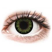 Maxvue Vision ColourVUE BigEyes - nedioptrické (2 čočky) Party Green
