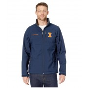 Columbia College Illinois Fighting Illini Collegiate Ascendertrade Softshell Jacket Collegiate Navy