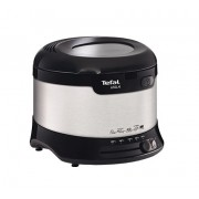 Фритюрник, Tefal Deep Fryer, 1800W, 1.8l, Uno Fryer M, Inox/Black (FF133D10)