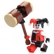 Lego Jokerland Harley Quinn Minifigure 76035 Loose with Hammer