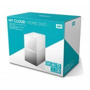 Disco duro externo WD My Cloud Home Duo 16TB escritorio ethernet 2USB3.0 RAID Windows y Mac
