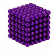 EH Imán Magic Bolas 216pcs Juego de Puzzle magnético 5mm violeta