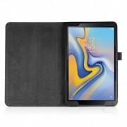 COOL Funda Samsung Galaxy Tab A (2018) T590 / T595 Polipiel Liso Negro 10.5 Pulg