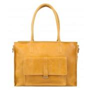 Cowboysbag Handtas Bag Edgemore 15 inch Geel