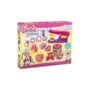 Massa Para Modelar Criativa Barbie Cookies Coloridos Fun