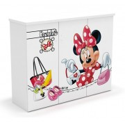 Comoda copii 3 usi Shopping Minnie