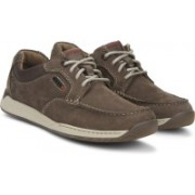 Clarks Javery Time Brown Tumb Casual Shoes For Men(Brown)