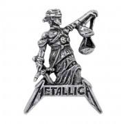 Insignă ALCHEMY GOTHIC - Metallica - Judiciary For All - - PC513
