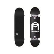 """SK8MAFIA - skateboard COMPLET """"House Logo"""" Black 7.75""""x31.75"""" black Velikost: 7.75"""