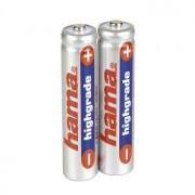 Hama 3x AAA NiMH Batteries Nichel-Metallo Idruro (NiMH) 700mAh 1.2V batteria ricaricabile