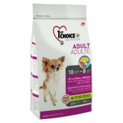 1st Choice Dog Adult Toy & Small Breeds Skin & Coat 350 Gr