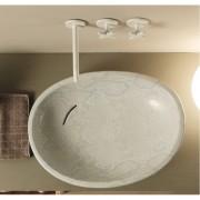 Biko lavabo da appoggio Pitone Bianco