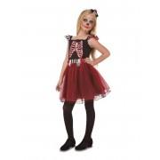Vegaoo.es Disfraz señorita esqueleto niña - 7-9 años