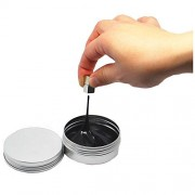 Glody Magnetic Space Putty Slime Super Stress Reliever for Kids Adults Black