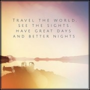 travel the world sticker poster|travelling quotes|for travellers|size:12x18 inch|multicolor